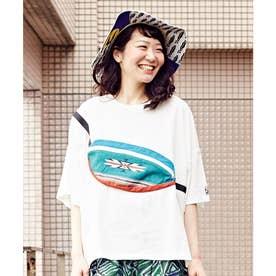 【チャイハネ】grn×Amina ショダーTシャツ ホワイト