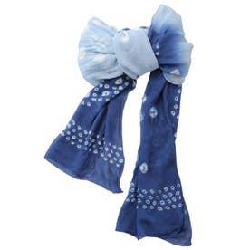 【チャイハネ】豆絞り浴衣帯 ブルー