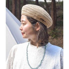 【チャイハネ】サラリベレー帽 ベージュ