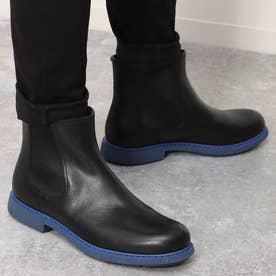 NEUMAN / ブーツ サイドゴア プレーントゥ (ブラック)