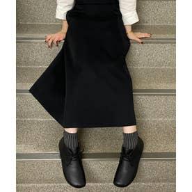 RIGHT NINA / ブーツ ハイカット プレーン フラット (ブラック)