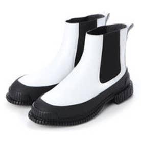 PIX / ブーツ サイドゴア (ピュアホワイト)