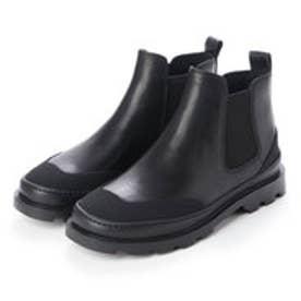 BRUTUS / ブーツ サイドゴア フラットヒール (ブラック)
