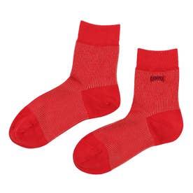 Woman Franja socks ソックス (フランボワーズレッド)