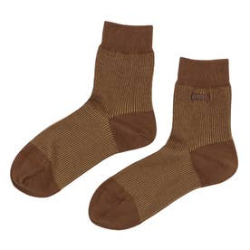 Woman Franja socks ソックス (チョコレートブラウン)