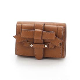 ADORABLE CANDY RIBBON MINI WALLET (BROWN)