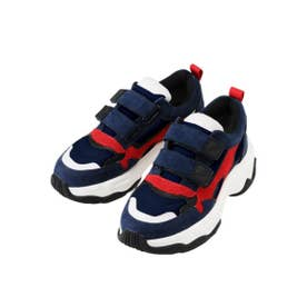 KICK IT CANDY SNEAKERS (NAVY)