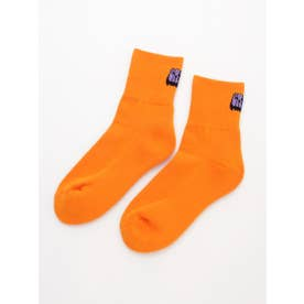 CANDY SHORT RIB SOCKS (ORANGE)