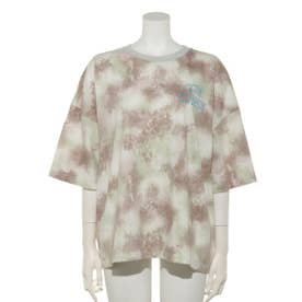 PICK ME UP TIEDYE TOPS (GREEN MIX)