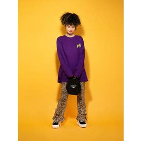 CANDY SCRAPS L/S TEE (PURPLE)