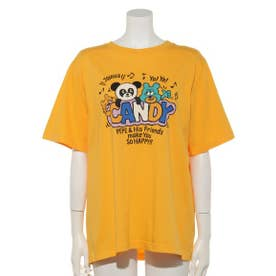 PEPE WITH FRIENDS TEE (YELLOW)