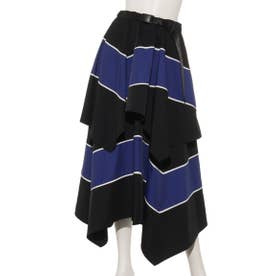 COLOR SWITCHED SKIRT (BLACK×BLUE)