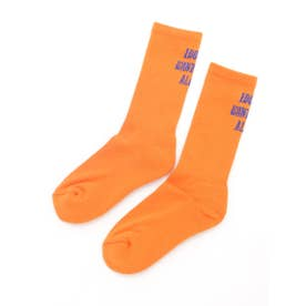 LOGO RIB SOCKS (ORANGE)