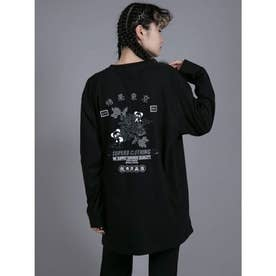SUPER B CLOTHING CANDY/ L/S TEE (BLACK)