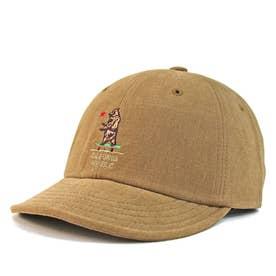Bear刺繍・ショートバイザーキャップ S.V CAP (Beige)