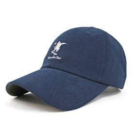 Bear刺繍・ローキャップ Low CAP (Navy)