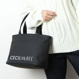 LOGO BASIC TRAVEL TOTE M (ブラック)