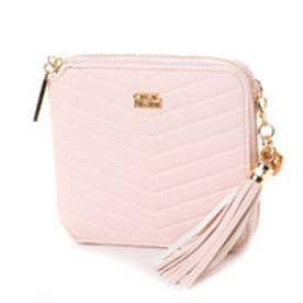 V字型押し折財布 (ピンク)