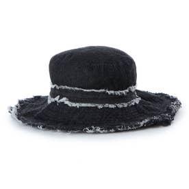 レディース マリン 帽子 ツバ広デニムハット 220127 【返品不可商品】