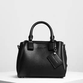 【再入荷】トップハンドルストラクチャーバッグ / Top Handle Structured Bag (Black)