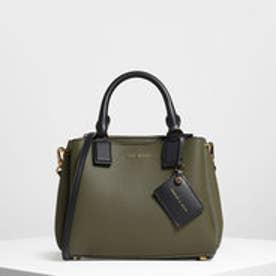 【再入荷】トップハンドルストラクチャーバッグ / Top Handle Structured Bag (Olive)