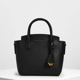 【再入荷】クラシック ダブルトップハンドルバッグ / Classic Double Top Handle Bag (Black)