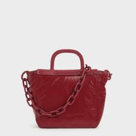 シースルー トートバッグ / See-Through Tote Bag (Red)