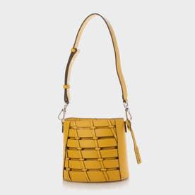 【2021 SUMMER 新作】ブレイデッド バケツバッグ / Braided Bucket Bag (Yellow)