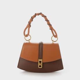 コイルド トップハンドルバッグ / Coiled Top Handle Bag (Cognac)