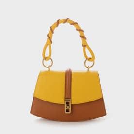 コイルド トップハンドルバッグ / Coiled Top Handle Bag (Yellow)