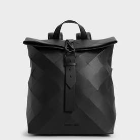 【2021 SUMMER】ラージジオメトリック バックパック / Large Geometric Backpack (Black)