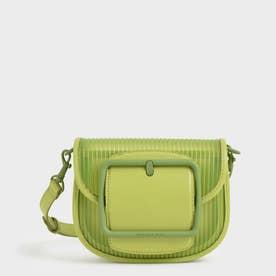 【2021 SUMMER】アクリルチェーンハンドル クロスボディバッグ / Chain Handle Crossbody Bag (Lime)