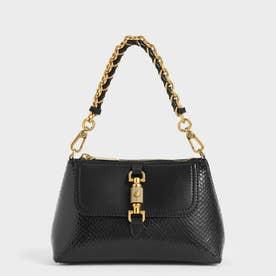 チェーンハンドルバッグ / Chain Handle Bag (Black)