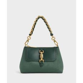 チェーンハンドルバッグ / Chain Handle Bag (DarkGreen)
