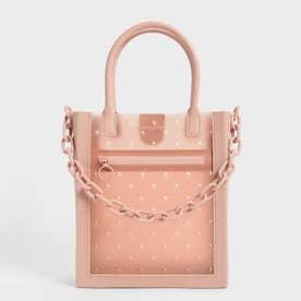 チェーンリンク トートバッグ / Chain Link Tote Bag (Blush)