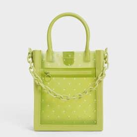チェーンリンク トートバッグ / Chain Link Tote Bag (Lime)