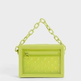 チェーンリンク クロスボディバッグ / Chain Link Crossbody Bag (Lime)