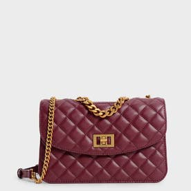【2021 FALL 新作】キルテッド クラッチ / Quilted Clutch (Burgundy)