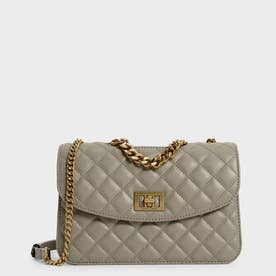 【2021 FALL 新作】キルテッド クラッチ / Quilted Clutch (Taupe)