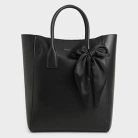 【2021 FALL 新作】ボウトートバッグ / Bow Tote Bag (Black)