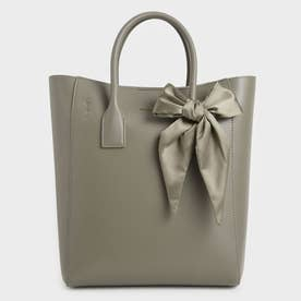 【2021 FALL 新作】ボウトートバッグ / Bow Tote Bag (Taupe)