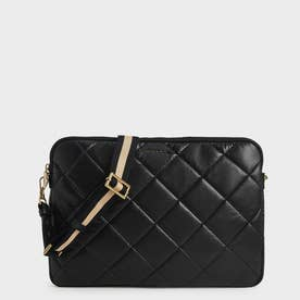【2021 FALL 新作】キルテッド ラップトップバッグ / Quilted Laptop Bag (Black)
