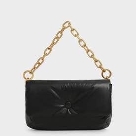 【2021 FALL 新作】ザディー パテッドショルダーバッグ / Zadie Padded Shoulder Bag (Black)