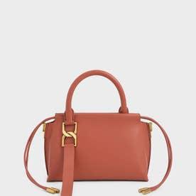 【2021 WINTER 新作】エスメバックルド クロスボディバッグ / Esme Buckled Crossbody Bag (Brick)