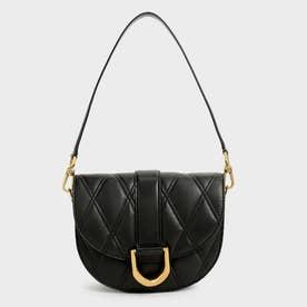 【2021 WINTER 新作】ガビーヌツートーン サドルバッグ / Gabine Two-Tone Saddle Bag- (Black)