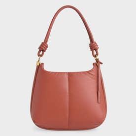 【2021 WINTER 新作】ルナ ノッティドハンドルホーボーバッグ / Luna Knotted Handle Hobo Bag (Brick)