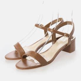 オープントゥ サンダル / Open-Toe Sandals (Camel)
