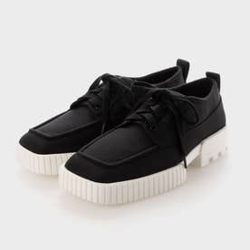 【2021 FALL 新作】リサイクルポリエステル ロートップスニーカー / Recycled Polyester Low-Top Sneakers (Black)