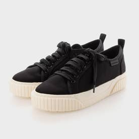【2021 FALL 新作】リサイクルコットン ロートップスニーカー / Recycled Cotton Low-Top Sneakers (Black)
