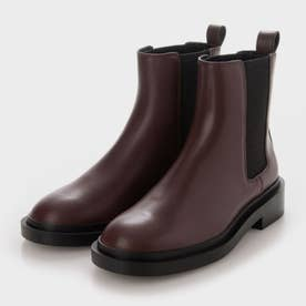 【2021 WINTER 新作】チェルシーブーツ ブロックヒールブーツ / Chelsea Block-Heel Boots (Burgundy)